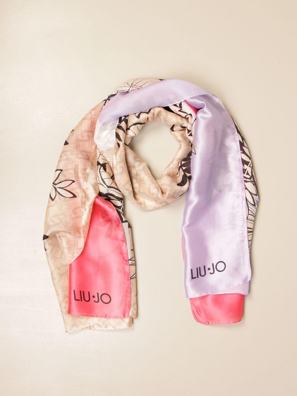 Details about  /Scarf IN Wool Pink with Rhinestone Newborn LIU JO H63029