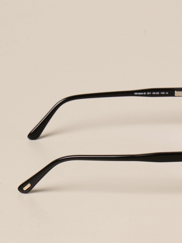 Brille Tom Ford: Brille herren Tom Ford schwarz 3