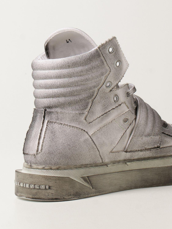 Sneakers Gienchi: Sneakers Hypnos Gienchi in tela con effetto spruzzato grigio 3