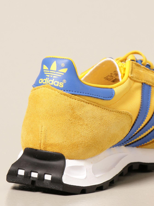 Sneakers Adidas Originals: Sneakers Racing 1 Adidas Originals in pelle e suede oro 3