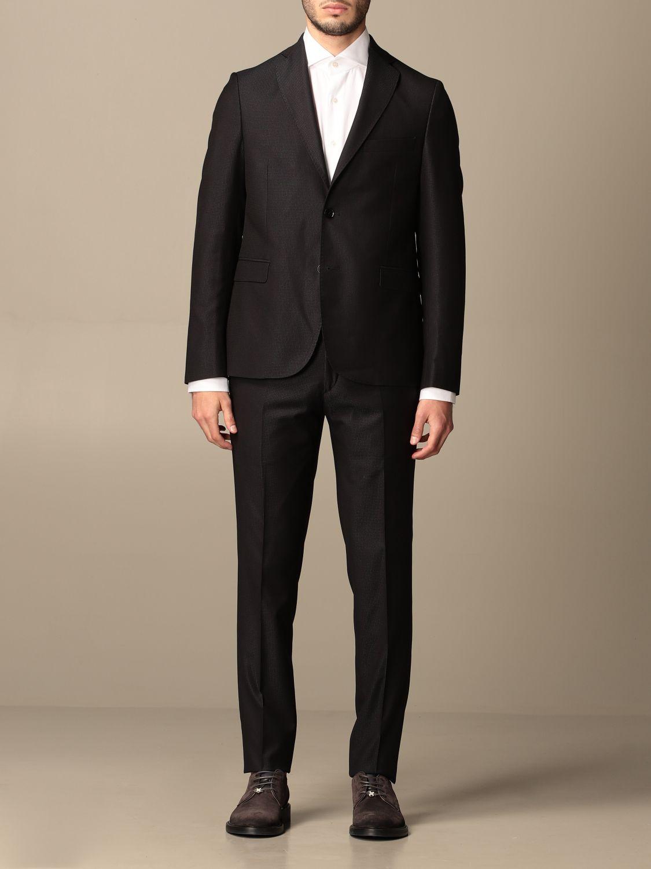 Suit Alessandro Dell'acqua: Suit men Alessandro Dell'acqua navy 1