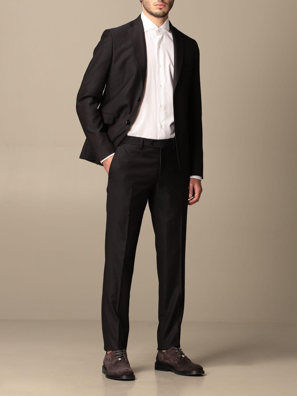 Suit Alessandro Dell'acqua: Suit men Alessandro Dell'acqua navy 2