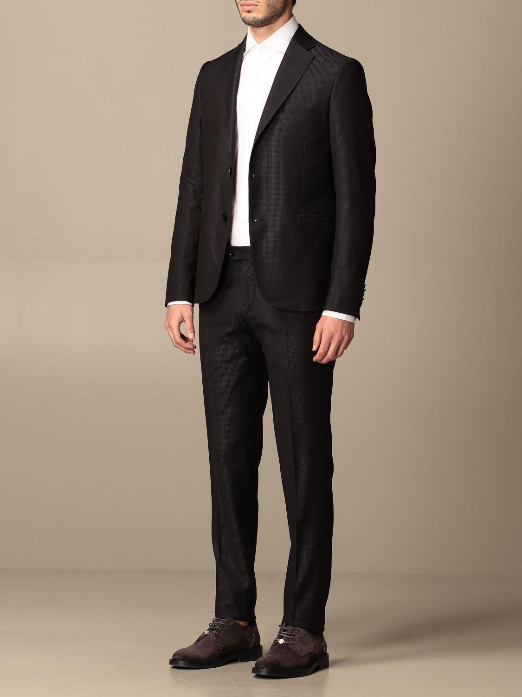 Suit Alessandro Dell'acqua: Suit men Alessandro Dell'acqua navy 4