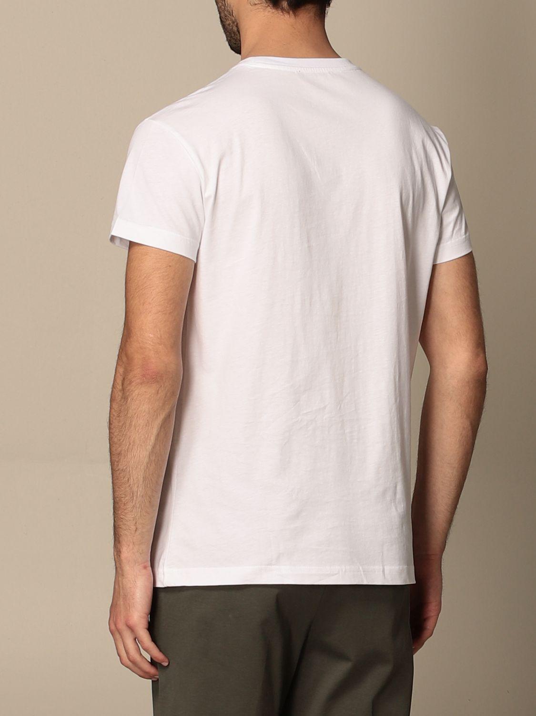 T-shirt Alessandro Dell'acqua: Alessandro Dell'acqua t-shirt in cotton with logo white 2