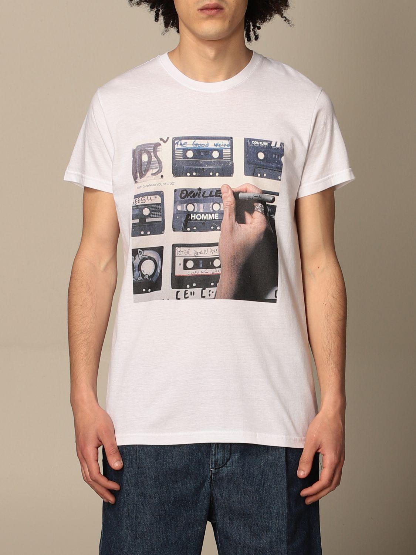 Camiseta Daniele Alessandrini: Camiseta hombre Daniele Alessandrini blanco 1