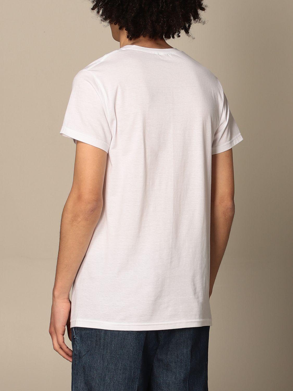 Camiseta Daniele Alessandrini: Camiseta hombre Daniele Alessandrini blanco 2