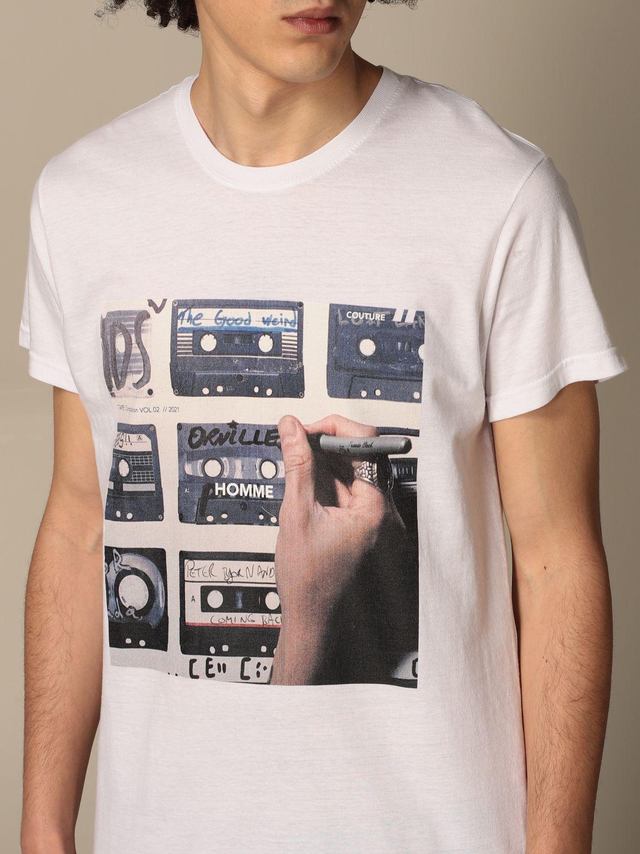 Camiseta Daniele Alessandrini: Camiseta hombre Daniele Alessandrini blanco 3