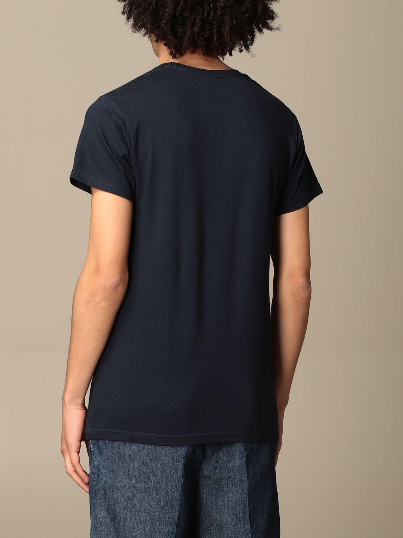 T-shirt Daniele Alessandrini: Daniele Alessandrini t-shirt in cotton with print blue 2