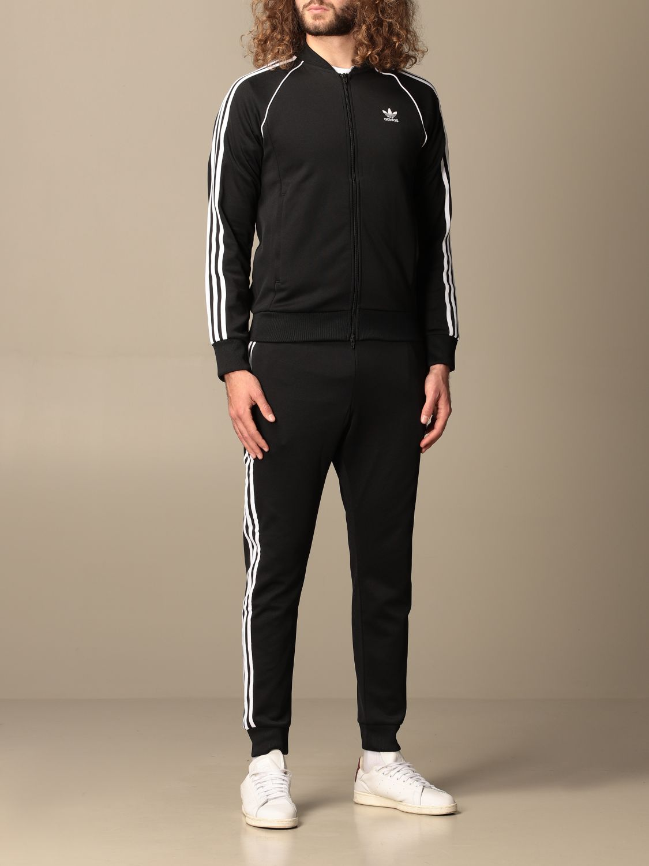 Sweatshirt Adidas Originals: Adidas Originals zip sweatshirt black 2