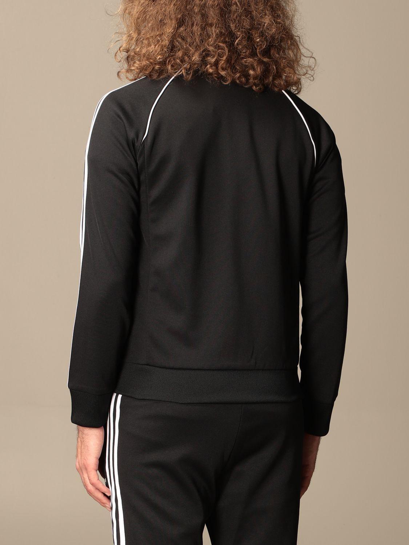 Sweatshirt Adidas Originals: Adidas Originals zip sweatshirt black 3
