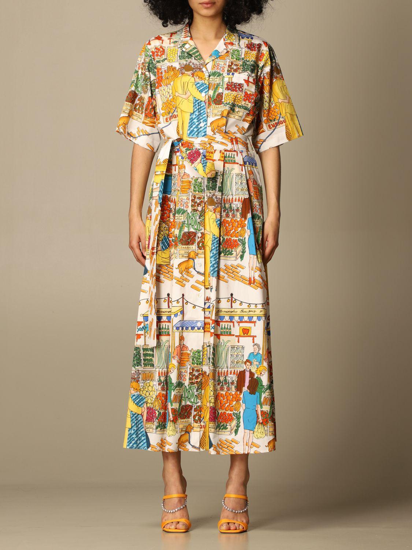 Robes Alessandro Enriquez: Robes femme Alessandro Enriquez multicolore 1