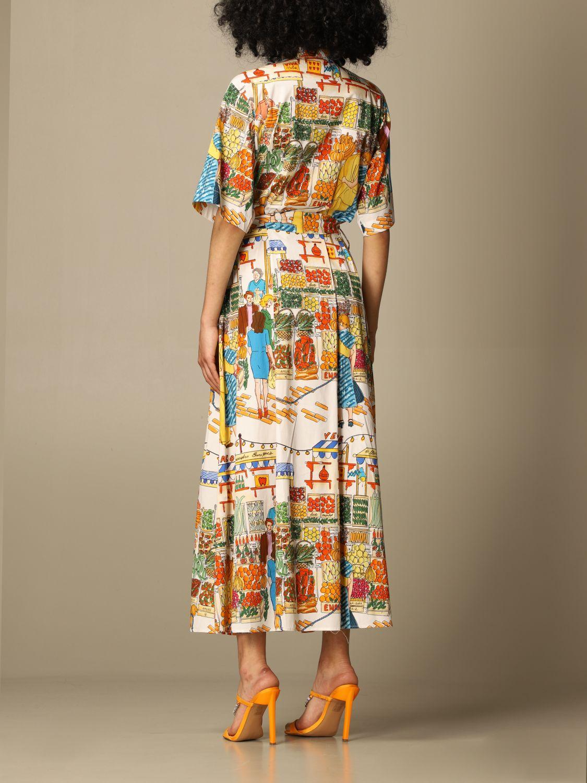 Robes Alessandro Enriquez: Robes femme Alessandro Enriquez multicolore 2