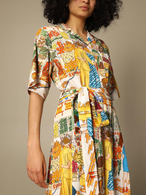 Robes Alessandro Enriquez: Robes femme Alessandro Enriquez multicolore 3