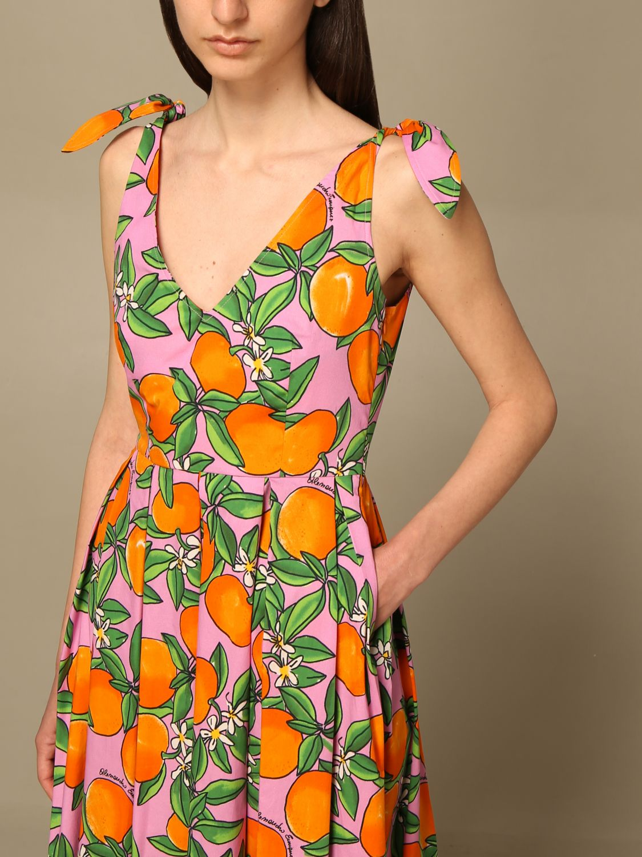Robes Alessandro Enriquez: Robes femme Alessandro Enriquez orange 3