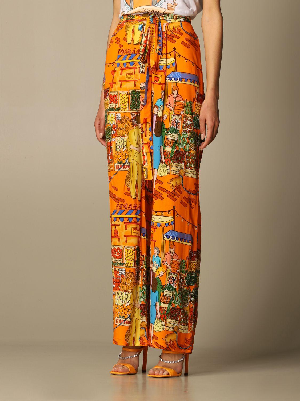 Pantalon Alessandro Enriquez: Pantalon femme Alessandro Enriquez multicolore 4