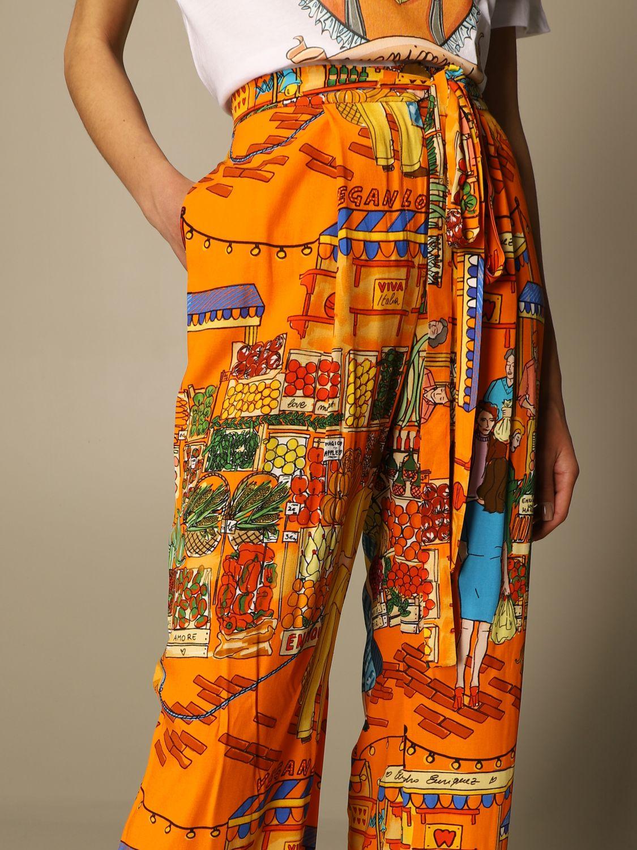 Pantalon Alessandro Enriquez: Pantalon femme Alessandro Enriquez multicolore 5