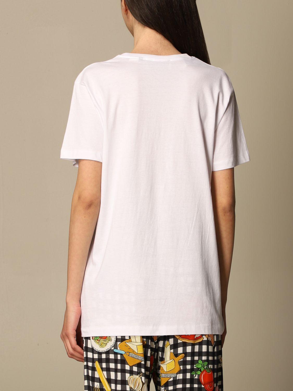 T-shirt Alessandro Enriquez: T-shirt Alessandro Enriquez con stampa fantasia 2
