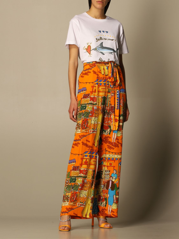 T-shirt Alessandro Enriquez: T-shirt femme Alessandro Enriquez multicolore 2
