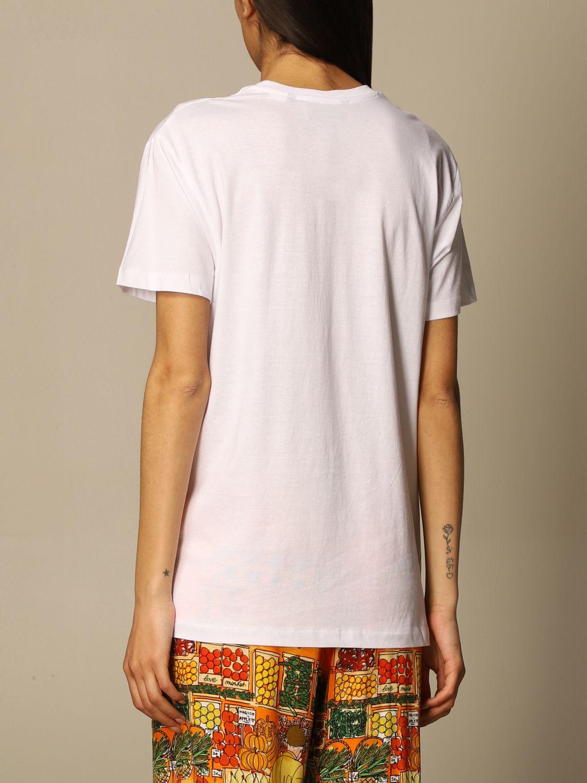T-shirt Alessandro Enriquez: T-shirt Alessandro Enriquez con stampa bianco 3