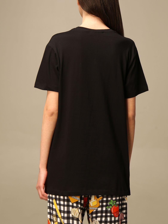 T-shirt Alessandro Enriquez: T-shirt Alessandro Enriquez con stampa fantasia 3