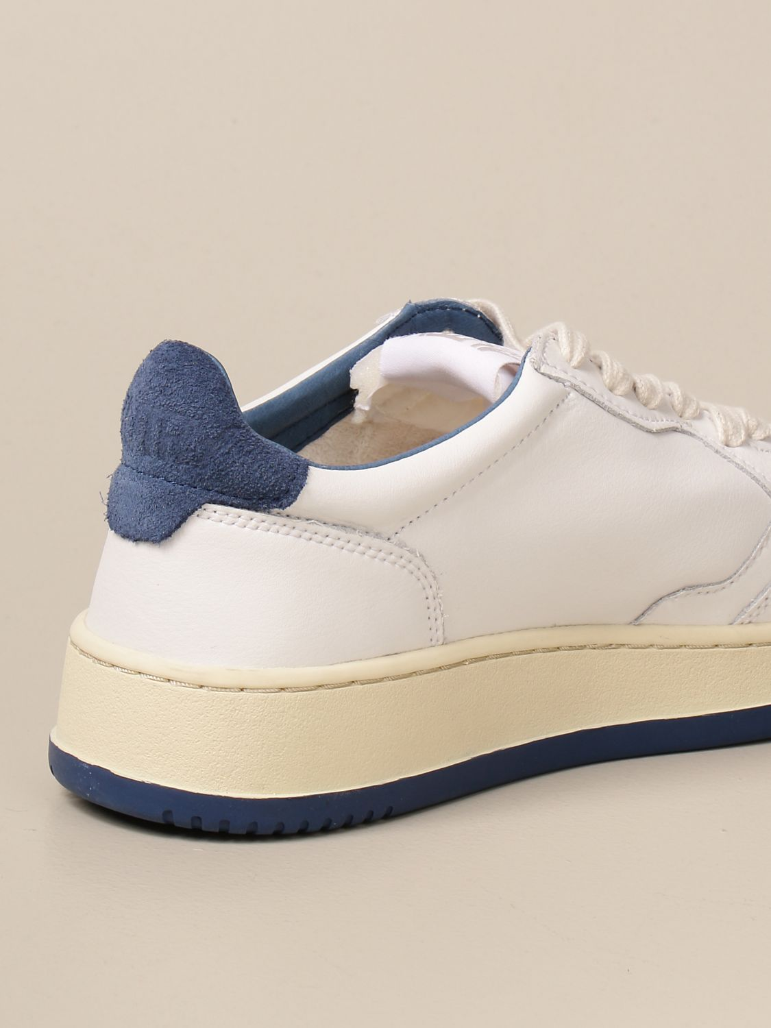 Baskets Autry: Chaussures homme Autry blanc 3