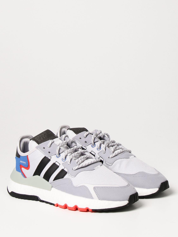 Sneakers Adidas Originals: Sneakers Nite jogger Adidas Originals grigio 2