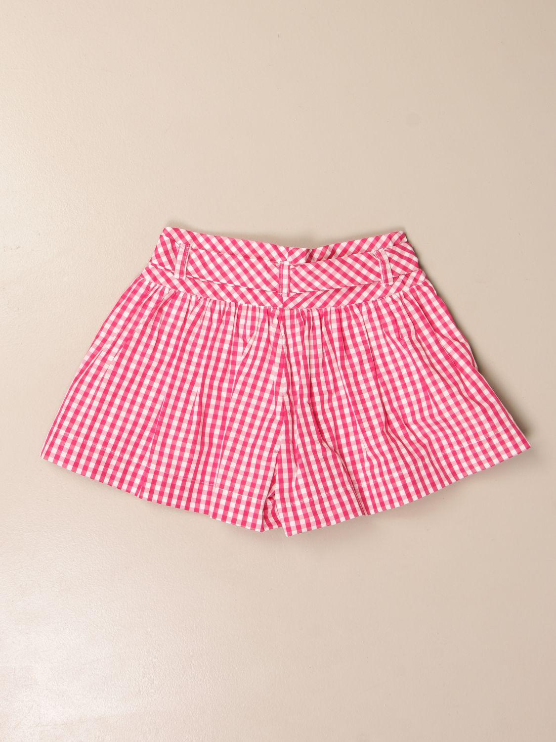 Short Monnalisa: Trousers kids Monnalisa yellow cream 2