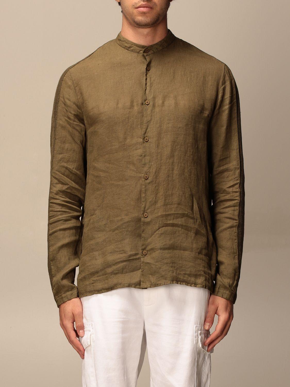 Shirt Transit: Shirt men Transit moss green 1