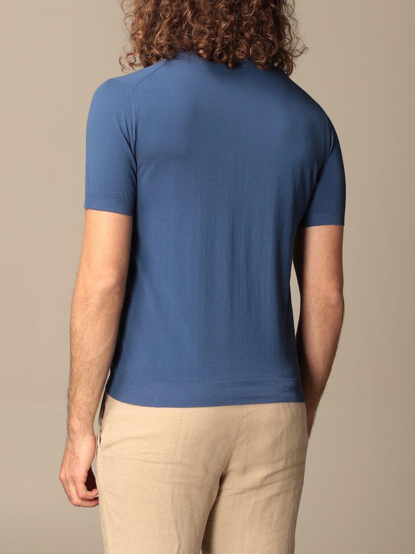 Maglia Altea: Maglia basic Altea in cotone blue 2