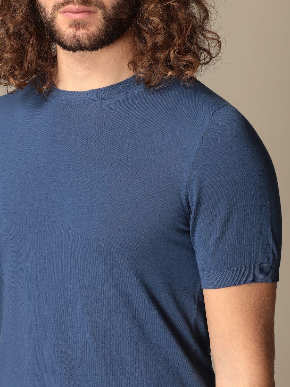 Maglia Altea: Maglia basic Altea in cotone blue 3