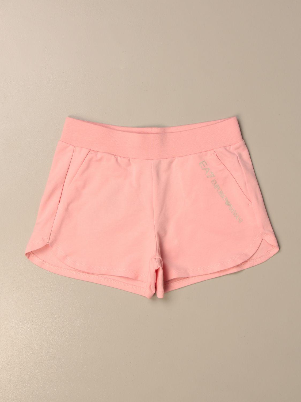 Short Emporio Armani: Short kids Emporio Armani pink 1