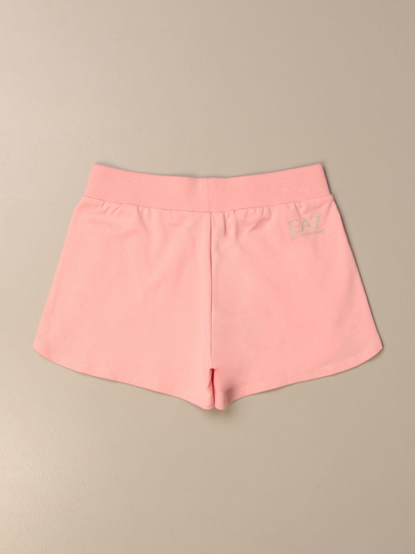 Short Emporio Armani: Short kids Emporio Armani pink 2