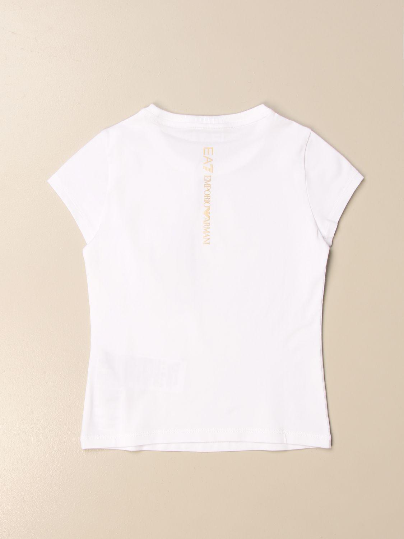 T-Shirt Ea7: T-shirt kinder Ea7 weiß 2