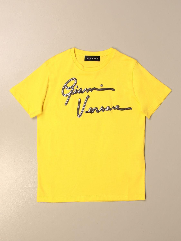 T-shirt Young Versace: T-shirt kids Versace Young yellow 1