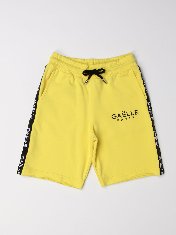 Шорты Gaëlle Paris: Брюки Детское GaËlle Paris желтый 1