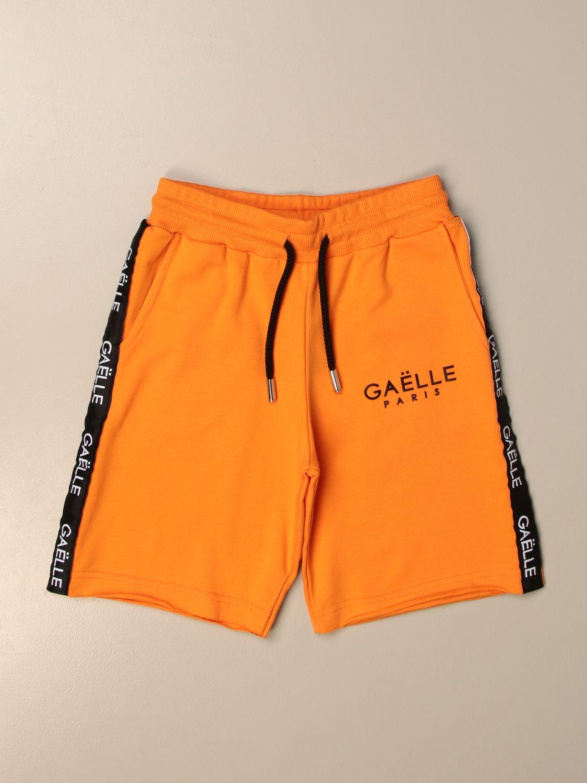 Шорты Gaëlle Paris: Брюки Детское GaËlle Paris оранжевый 1