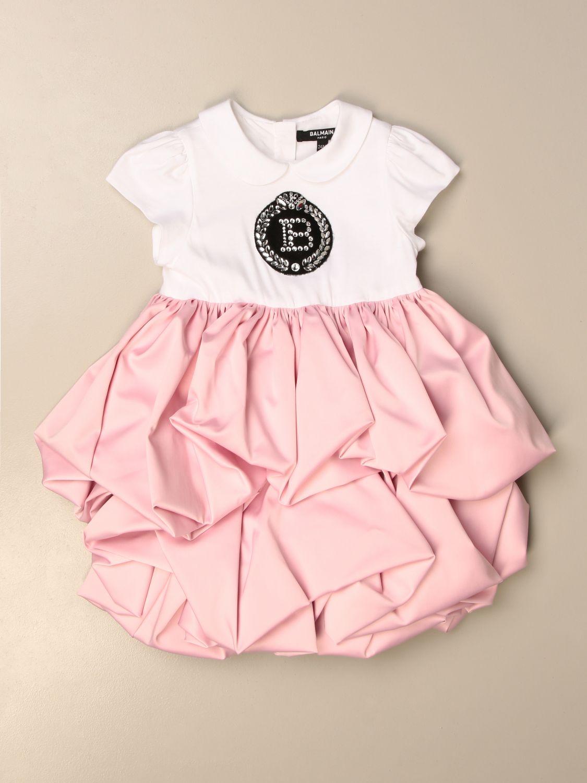 Pelele Balmain: Pelele niños Balmain rosa 1