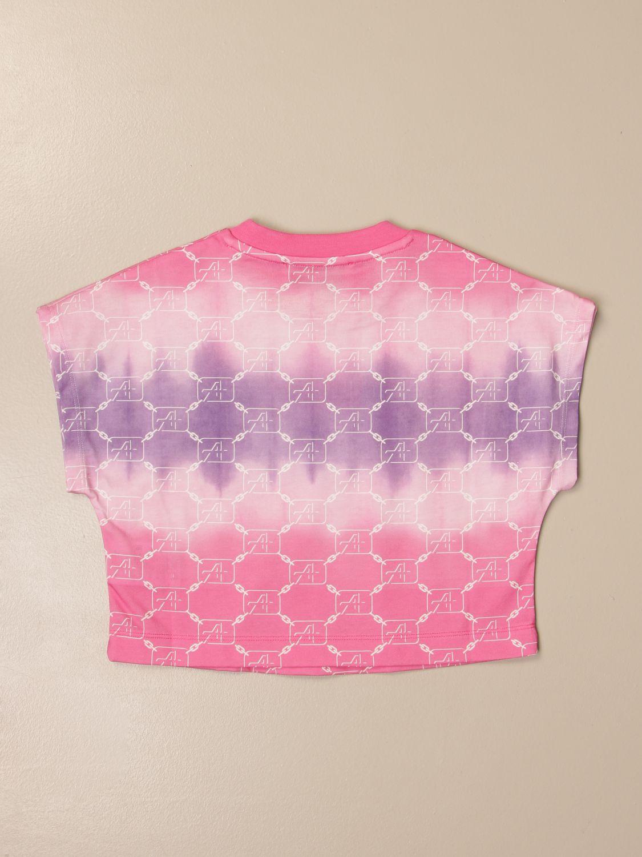 Camisetas Alberta Ferretti Junior: Camisetas niños Alberta Ferretti Junior rosa 2