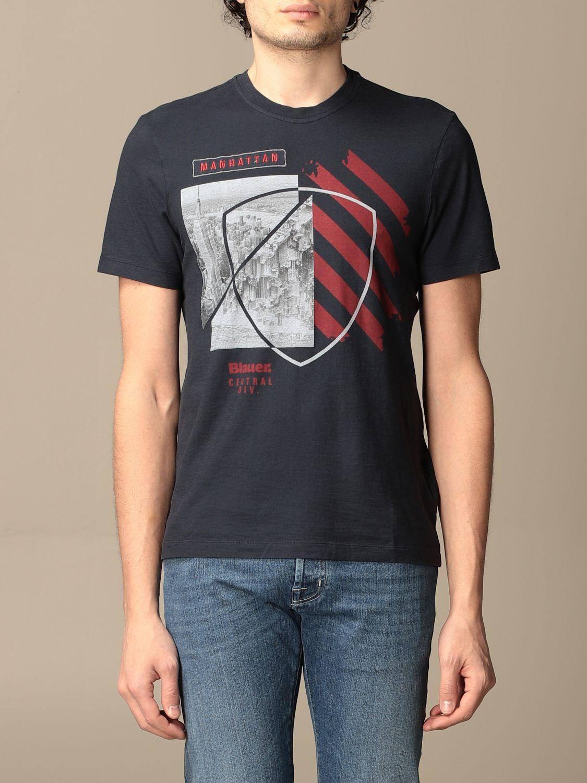 T-shirt Blauer: T-shirt homme Blauer saphir 1