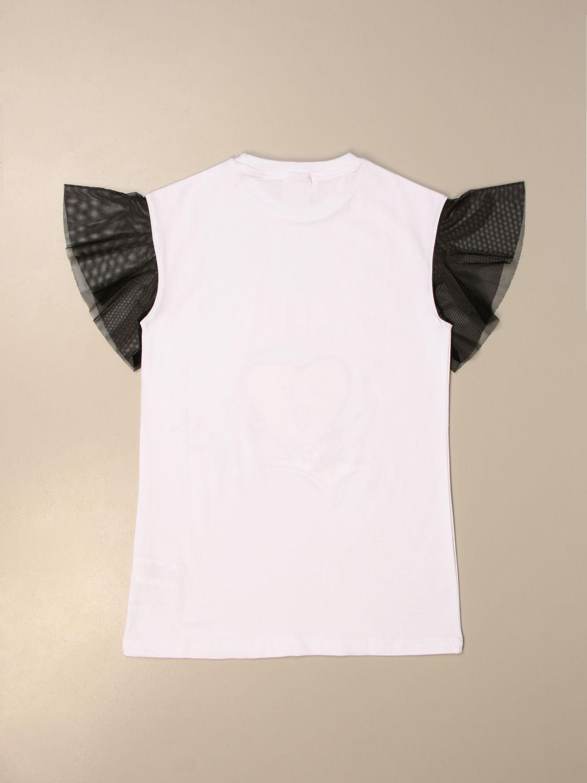 T-Shirt Gaëlle Paris: T-shirt kinder GaËlle Paris weiß 2
