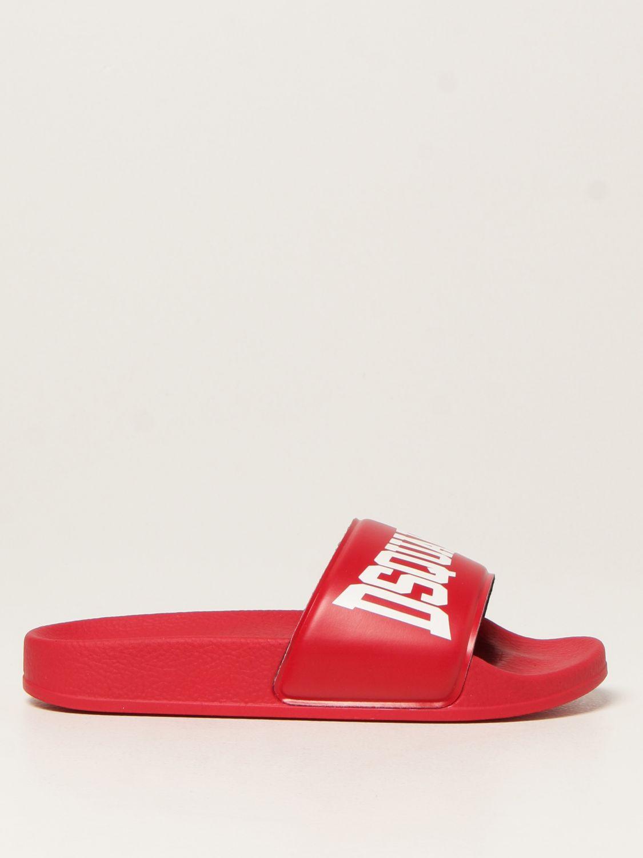 Обувь Dsquared2 Junior: Обувь Детское Dsquared2 Junior красный 1