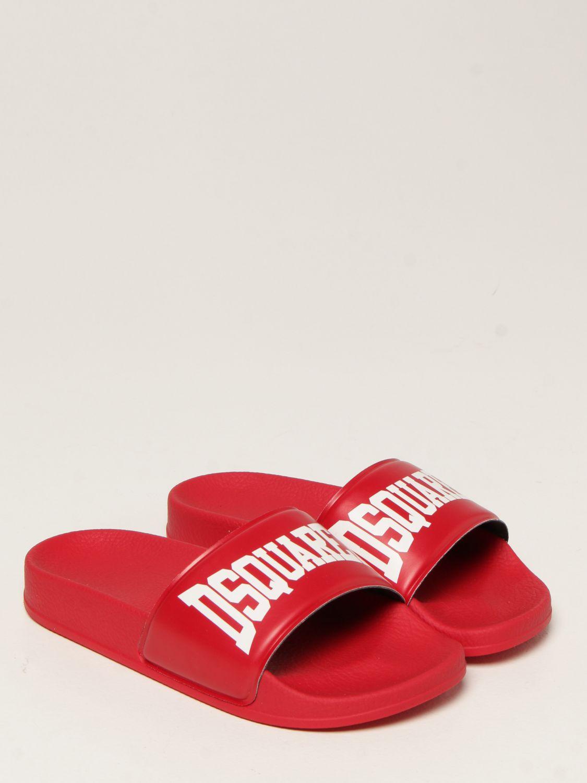 Обувь Dsquared2 Junior: Обувь Детское Dsquared2 Junior красный 2