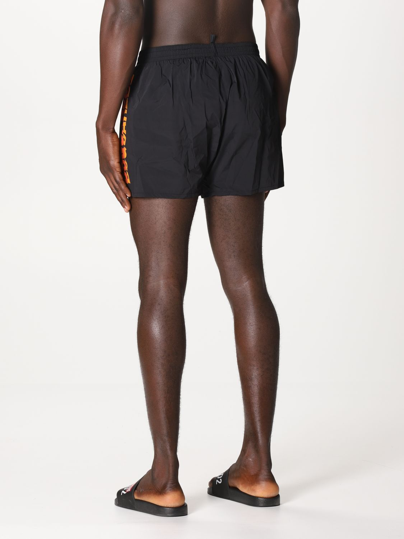 Costume Dsquared2: Costume a boxer Dsquared2 con logo nero 2