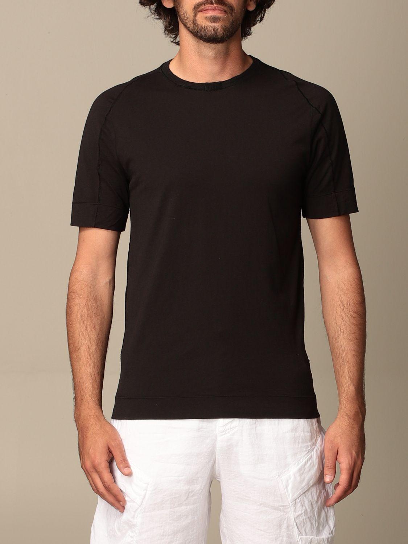 T-shirt Transit: Transit T-shirt in cotton and linen black 1