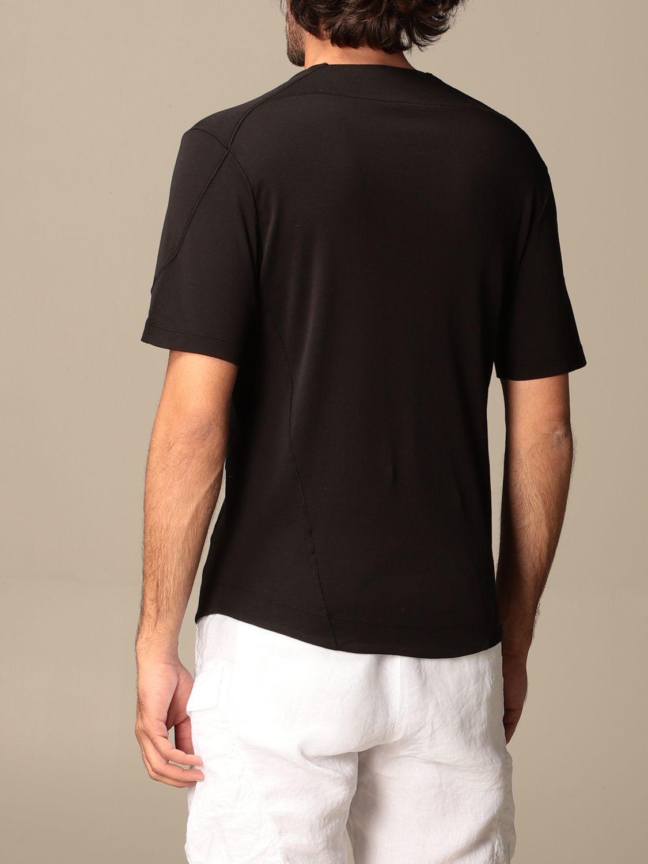 T-shirt Transit: Transit T-shirt in cotton and linen black 2
