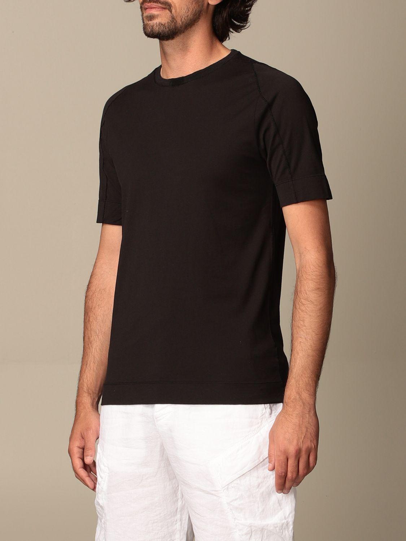 T-shirt Transit: Transit T-shirt in cotton and linen black 3