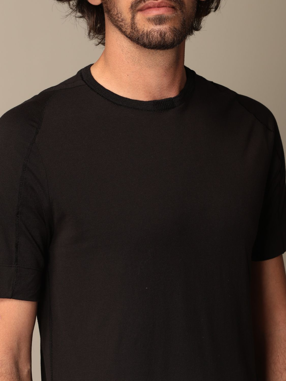 T-shirt Transit: Transit T-shirt in cotton and linen black 4