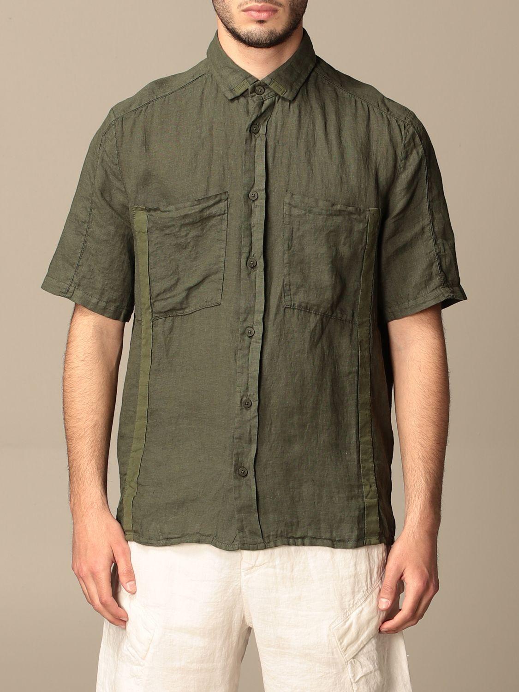 Shirt Transit: Shirt men Transit forest green 1