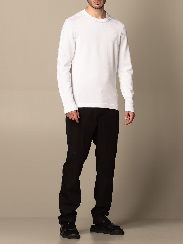 Sweater Transit: Sweater men Transit white 1 2