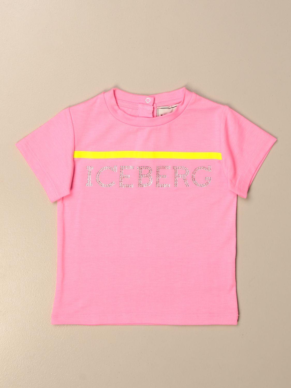 T-shirt Iceberg: T-shirt kids Iceberg pink 1